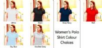 Women's Custom Design Personalised Polo Shirt